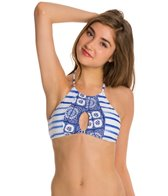 Roxy Tides of Way Crop Halter Bikini Top