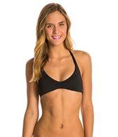 Roxy Wrapsody Tri Halter Bikini Top