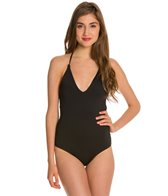 Roxy Wrapsody Deep V One Piece Swimsuit