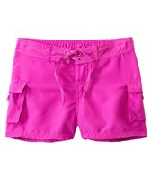 Sunshine Zone Girls' Solid Pocket Water Shorts (7yrs-16yrs)
