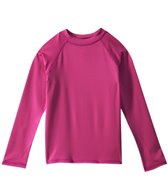 Sunshine Zone Girls' Solid L/S Rashguard (4yrs-6X)