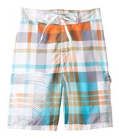 Sunshine Zone Boys' Plaid E-Boardshort (8yrs-18yrs)