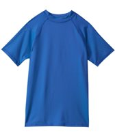 Sunshine Zone Boys' Solid S/S Rashguard (8yrs-18yrs)