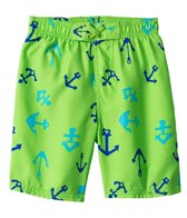 Sunshine Zone Boys' Sailor Anchor Boardshort (2T-4T)