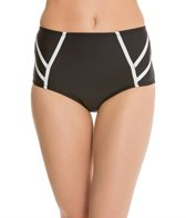 Robin Piccone Britt Scuba High Waisted Bikini Bottom