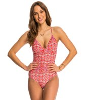 Helen Jon Tamarind Tie Back One Piece Swimsuit