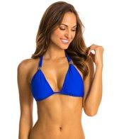 Helen Jon Del Mar Solid Slider Bikini Top