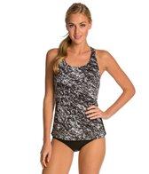 Dolfin Maribelle Printed Racerback Tankini Swimsuit Top