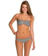 Rusty Samba Underwire Bandeau Bikini Top Set