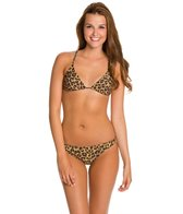Rusty Wild Triangle Bikini Top Set
