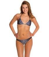 Rusty North Shore Triangle Bikini Top Set