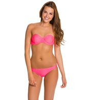 Rusty Bubble Underwire Bandeau Bikini Top Set
