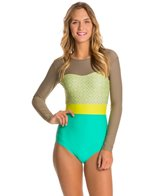Seea Hermosa Tiles LS One Piece Swimsuit