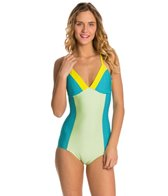 Seea Riviera Blue Tide One Piece Swimsuit