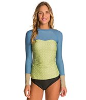Seea Hermosa Tiles L/S Swim Shirt