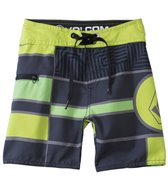 Volcom Boys' Big Mon Boardshort (2T-4T)