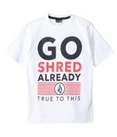 Volcom Boys' Shred Already S/S Tee (8yrs-20yrs)