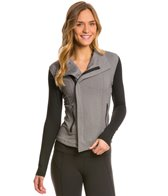Zobha Jaden Herringbone Zip Jacket with Contrast Zippers