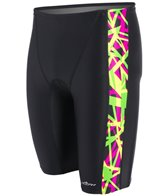 Dolfin Shatter Men's Spliced Jammer Swimsuit
