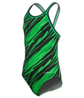 Dolfin Flare Youth DBX Back One Piece Swimsuit