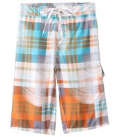 Sunshine Zone Plaid E-Boardshort