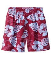 Sunshine Zone Tropical Hawaiian Party Volley Short