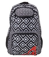 Roxy Shadow Swell Diamond Zigs Backpack