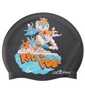 Dolfin Rule The Pool Silicone Swim Cap