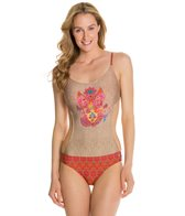 Eco Swim Holi Festival Monica-kini One Piece Swimsuit