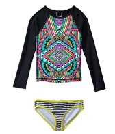 Billabong Stellar L/S Rashguard Set (4yrs-6X)