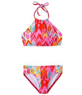 Billabong Radiant Heartbeats Ikat Halter Set (7yrs-14yrs)