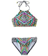 Billabong Girls' Stellar Halter Set (7yrs-14yrs)