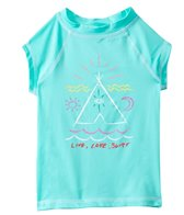 Billabong Girls' TeePee S/S Rashguard (4yrs-6X)