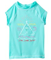Billabong Girls' TeePee S/S Rashguard (7yrs-14yrs)