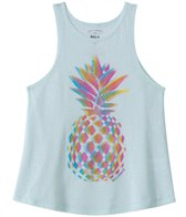 Billabong Girls' Pineapple Confusion Swing Tank (7yrs-14yrs)