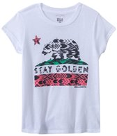 Billabong Girls' Stay Golden S/S Tee (4yrs-6yrs)