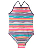405 South Girls' Sunset Stripe Tank One Piece (7yrs-16yrs)