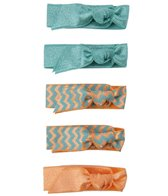 Emi-Jay Printed 5-Pack Hair Ties