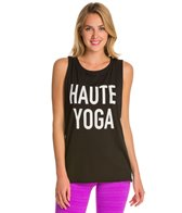 Emi-Jay Haute Yoga Muscle Tank Top