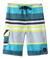 O'Neill Boys' Santa Cruz Stripe Boardshort (8yrs-14yrs+)