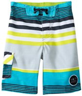O'Neill Boys' Santa Cruz Stripe Boardshort (4T-7yrs)