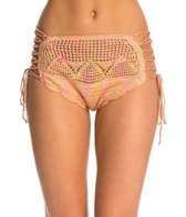 O'Neill Anna Sui Love Birds Crochet High Waist Bikini Bottom