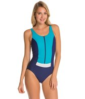 Amoena Venice Zip Front Mastectomy One Piece