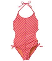 Roxy Girls' Flamingo Beach One Piece (8yrs-16yrs)