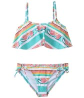 Roxy Girls' Sea You Soon Flutter Set (8yrs-16yrs)
