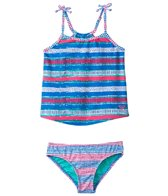 Roxy Girls' All Mixed Up Tankini Set (2T-5T)