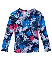 Roxy Girls' Paradise Bound L/S Rashguard (6yrs-7yrs)