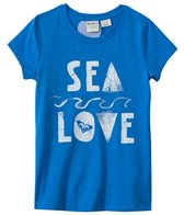Roxy Kids Girls' Sea Love Basic Tee (8yrs-16yrs)