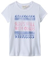 Roxy Kids Girls' Surf Well Basic Tee (8yrs-16yrs)