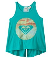 Roxy Kids Girls' Sunset Logo Flutter Back Tank (8yrs-16yrs)